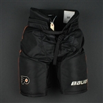 Giroux, Claude<br>Third Bauer Supreme Pants<br>Philadelphia Flyers 2015-16<br>#28 Size: Medium