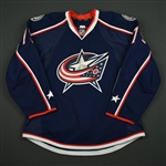 Abramov, Vitaly<br>Blue Set 1 - Training Camp Only<br>Columbus Blue Jackets 2016-17<br>#79 Size: 54