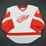Gustavsson, Jonas * <br>White Set 1 - Photo-Matched<br>Detroit Red Wings 2014-15<br>#50 Size: 58G