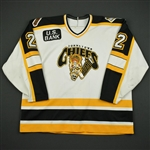 White, Kam * <br>White<br>Johnstown Chiefs 1996-97<br>#2 Size: 56