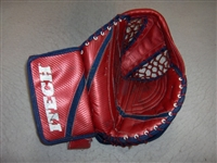 Valiquette, Steve<br>Itech Red Goalie Catcher<br>Hartford Wolf Pack 2004-05<br>#40