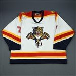 Wilson, Mike * <br>White<br>Florida Panthers 1999-00<br>#7 Size: 58