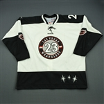 Blackwater, Judd<br>White Set 1<br>Las Vegas Wranglers 2011-12<br>#23 Size: 56