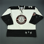 Boe, Channing<br>White Set 1<br>Las Vegas Wranglers 2011-12<br>#25 Size: 56