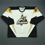 Foreman, Jordan<br>White Set 1<br>Stockton Thunder 2011-12<br>#16 Size: 54