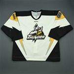 Fulton, Jordan<br>White Set 1<br>Stockton Thunder 2011-12<br>#18 Size: 54
