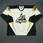 Kytnar, Milan<br>White Set 1<br>Stockton Thunder 2011-12<br>#19 Size: 56