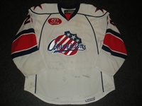 McArdle, Kenndal<br>White Set 1 (A removed)<br>Rochester Americans 2008-09<br>#22 Size: 56