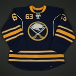 Ennis, Tyler * <br>Blue Set 2 - Photo-Matched<br>Buffalo Sabres 2013-14<br>#63 Size: 54