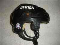 Wiseman, Chad<br>Black CCM Helmet<br>Albany Devils 2010-11<br>#NA