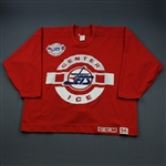 Muni, Craig * <br>Red Practice, Cherished Memories Patch<br>Winnipeg Jets 1995-96<br># Size: 56
