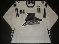 Paiement, Jonathan<br>White Set 1 w/A<br>Florida Everblades 2008-09<br>#94 Size: 54