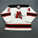 Lacouture, Dan<br>White Set 2<br>Lowell Devils 2006-07<br>#24 Size: 56