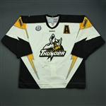 Boisclair, Maxime<br>White Set 1 w/A<br>Stockton Thunder 2012-13<br>#11 Size: 54