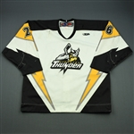Bureau, Pierre-Andre<br>White Set 1<br>Stockton Thunder 2010-11<br>#26 Size: 54