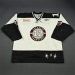 Korchinski, Chris<br>White Set 1<br>Las Vegas Wranglers 2008-09<br>#12 Size: 56