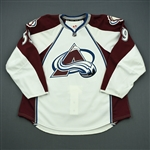 Donnelly, Dillon<br>White Set 1 - Game-Issued (GI)<br>Colorado Avalanche 2011-12<br>#59 Size: 58