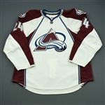 Gaunce, Cameron<br>White Set 1 - Training Camp Only<br>Colorado Avalanche 2011-12<br>#24 Size: 58