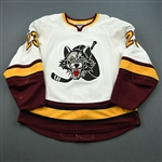 Stuart, Colin<br>White<br>Chicago Wolves 2008-09<br>#23 Size: 56