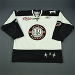 Smith, Robbie<br>White Kelly Cup Finals<br>Las Vegas Wranglers 2011-12<br>#19 Size: 56