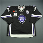 Jackson, Dallas<br>Black Set 1 w/ 10th Anniversary Patch<br>Reading Royals 2010-11<br>#29 Size: 56