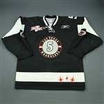 May, Jeff<br>Black Kelly Cup Finals<br>Las Vegas Wranglers 2011-12<br>#5 Size: 56
