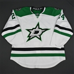 Benn, Jordie<br>White Set 3 / Playoffs<br>Dallas Stars 2015-16<br>#24 Size: 58