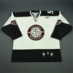 Power, Aaron<br>White Set 1<br>Las Vegas Wranglers 2010-11<br>#57 Size: 56