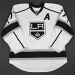 Carter, Jeff<br>White Set 3 / Playoffs w/A<br>Los Angeles Kings 2015-16<br>#77 Size: 56