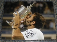 Sampras, Pete<br>Autographed 8x10 with inscription of<br> 2012