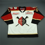 Smith, Darryl<br>White Set 1<br>Wheeling Nailers 2010-11<br>#18 Size: 56