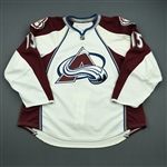Cohen, Zach<br>White Set 1 - Training Camp Only<br>Colorado Avalanche 2010-11<br>#15 Size: 58