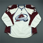 Gawryletz, Travis<br>White Set 1 - Training Camp Only<br>Colorado Avalanche 2010-11<br>#53 Size: 58