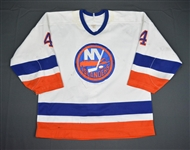 Diduck, Gerald * <br>White<br>New York Islanders 1987-89<br>#4