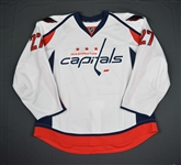 Alzner, Karl<br>White Set 1<br>Washington Capitals 2015-16<br>#27 Size: 58