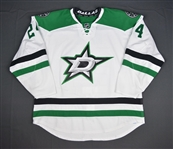 Benn, Jordie<br>White Set 1<br>Dallas Stars 2015-16<br>#24 Size: 58