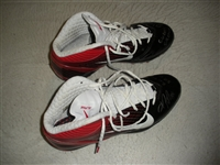 Nicks, Hakeem * <br>Black & Red Nike Alpha Speed Cleats, Autographed & Inscribed<br>New York Giants 2011<br>#88