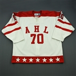 Law, Kirby * <br>White Canadian All-Star Warm-Up<br>All Star 2005-06<br>#10 Size: 56