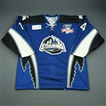 McCutcheon, Mark<br>Blue Kelly Cup Finals - Game 3 & 4<br>Idaho Steelheads 2009-10<br>#14 Size:56