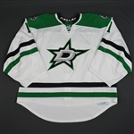 Campbell, Jack<br>White Set 1 - Back-Up Only<br>Dallas Stars 2015-16<br>#1 Size: 58G