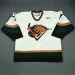 Armstrong, John<br>White Set 1<br>Utah Grizzlies 2011-12<br>#7 Size: 56