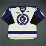 Haines, Casey<br>White Set 1<br>Reading Royals 2011-12<br>#6 Size: 54