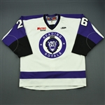 LaPoint, Derrick<br>White Set 1<br>Reading Royals 2011-12<br>#26 Size: 56