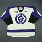 Liotti, Louis<br>White Set 1<br>Reading Royals 2011-12<br>#5 Size: 56