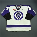 Macias, Ray<br>White Set 1<br>Reading Royals 2011-12<br>#28 Size: 58