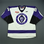 Mitchell, Dale<br>White Set 1<br>Reading Royals 2011-12<br>#18 Size: 56