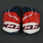 Alzner, Karl<br>CCM Pro Gloves<br>Washington Capitals 2016-17<br>Size: 14