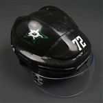 Cole, Erik<br>Black Bauer 7500 Helmet w/Bauer Shield<br>Dallas Stars 2014-15<br>#72