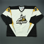 Abney, Cameron<br>White Set 1<br>Stockton Thunder 2011-12<br>#36 Size: 58