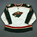 Nolan, Owen * <br>White Set 2<br>Minnesota Wild 2009-10<br>#11 Size: 58